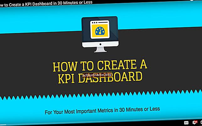 Come scrivere i KPI