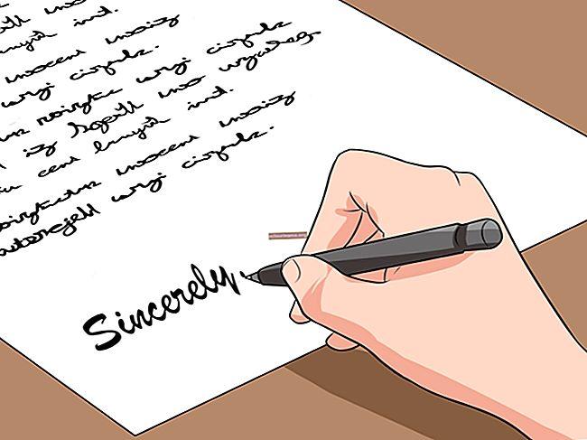 Come scrivere un esempio di lettera di verifica dell'impiego