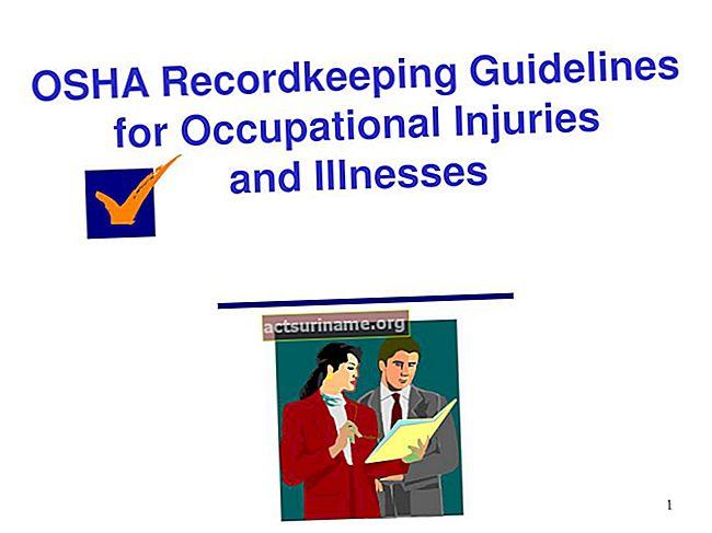 Linee guida OSHA sulla conservazione dei registri per la registrazione degli infortuni