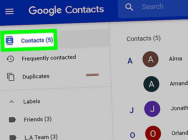 Come eliminare i contatti Gmail sincronizzati su un BlackBerry
