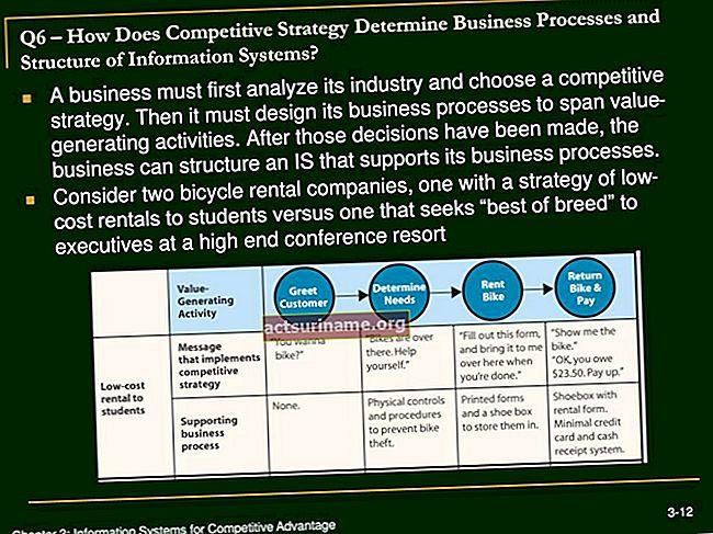 In che modo la strategia di un'organizzazione determina i processi e i sistemi aziendali?
