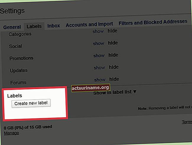 Come creare una pagina partner tramite Gmail