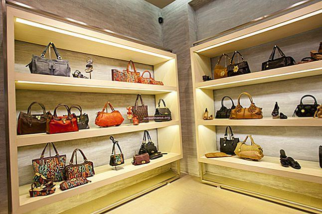 Come progettare un negozio di borse